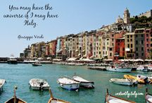 Instantly Italy: postcards from Italy / A collection of some postcard from Italy I virtually send via Instantly Italy.