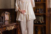 Silk Pajamas for Women / Charming Mulberry Silk Pajamas for Women in Vansilk. Vansilk online: www.vansilktextile.com/