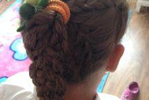 Hajfonatok, hairstyles