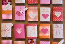 Valentijnsdag / De mooiste, liefste en meest romantische cadeaus om zelf te knutselen voor Valentijnsdag. / by Knutselen