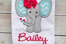 Applique & Embroidery ideas for Jessica :) / by Megan Salter