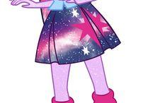 Mlp Galaxy, Cristal etc.
