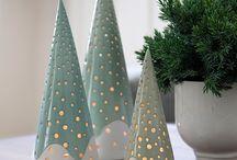 Ceramic ornaments and NY decor