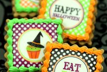 Halloween edible images / Inspiration for your Halloween cake and cookie designs - a range of photo cakes, cupcakes and cookies