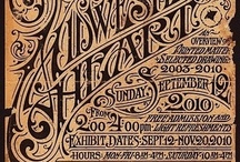 Design | Vintage Typography / by Amy Lyons