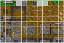pixel arts 2d landscape