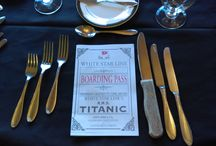Titanic Theme Party / A Titanic Themed Party For Our Members