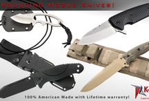 Hogue Knives / Introducing Hogue Knives! Hogue's new line of fine sporting cutlery represents the ultimate value in tactical folding and fixed blade knives. Choose from fixed or folding models at www.k-var.com/shop/Knives