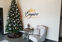 Empire Creative Studios: See Our Space / Empire Creative Marketing just built it's first office building! Here are some photos of our new space for your own office decor inspiration.