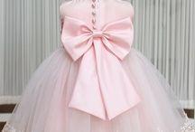 Barn prinsesseklær