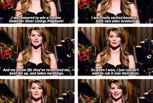 Jennifer Lawrence / This is my favorite actress ever