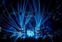 Festival lighting shows / ROBE Lighting at Festivals worldwide