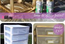 Projets de peinture en spray