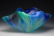 Fine Art Glass Sculpture / One-of-a-kind glass sculptures created using many different processes from a number of different artists at Habatat Galleries FL.