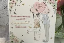 Wedding Belles - Glints of gold and pastel foils & embossed dresses for 'weddings with wow!'