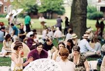 Jazz age garden party wedding