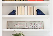 Bookshelves / by Middle Saint