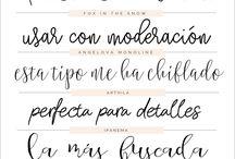 Tipografiías <3