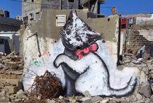 Sketch,Paintings,Poster,Graffiti,Stencil
