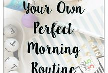 Planning | Routines and habits / Routines help automate your life morning routines, daily routines, schedule, weekly routine