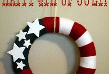 Red, White & Blue / Flag Day, 4th of July, Memorial Day, Labor Day, etc. / by Ben Franklin Crafts New Albany