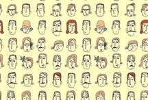 doodles face