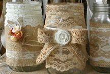 Mason Jar Crafts / by Melinda Walker