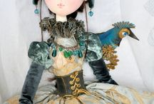 Dolls: all fabric, Art / Ideas and inspiration
