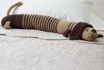door draft stopper - knit