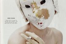 "|MASKS- / ""All societies end up wearing masks.""  ― Jean Baudrillard, America"""