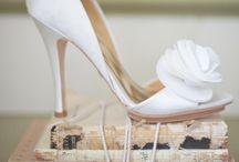 Wedding shoes&makeup