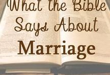 Marriage. Love. Relationships