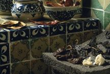 Mexican Ceramic, Mexican Talavera, Mexican Pottery / A collection of the vast array of ceramic made by  Mexican artisans.  Clay, Talavera, Tile, black clay, and more.