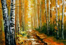 cuadros otoño