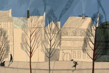 Illustrations: Cities and villages