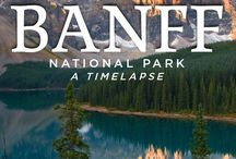 Beautiful Banff / Explore the natural beauty of Banff National Park | Photos, travel tips + things to see and do while visiting Banff.