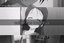 Anime quotes ()
