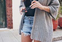 Sweter na szydełku
