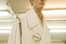J.W. Anderson /  Provocative ready-to-wear designs and androgynous aesthetic .
