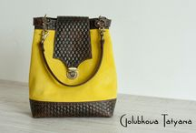 bags GolubkovaDesign / My hand made bags  Авторские сумки ручной работы из натуральной кожи