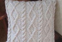 Home decor knits