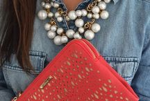 STYLE: PEARLS / Fashion with pearls. I love pearls.