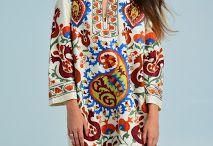 our blog's photos / #ikat #fashion #sultana #suzaniclothes #asia #street #models #inspiration #uzbek