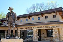 John Wayne Birthplace and Museum / The John Wayne Birthplace & Museum in Winterset, Madison County, Iowa