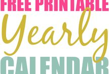 Free Printables / Get your kids busy and your life organized with these great freebies!