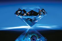 """BLUE DIAMOND / Blue diamonds are the purest and represent less than one per cent of these gems, so it is very difficult to find at auctions and makes them highly prized among collectors. """"A DIAMOND IS FOREVER"""". When Marilyn Monroe, one of the most beautiful and powerful women of all time, performed the song """"Diamonds are a girl's best friend"""" - Diamonds are the best friends a girl - for the movie """"Gentleman blondes prefer"""" in 1953 the relationship between women and diamonds became more intimate. / by Astânia Magalhães"""