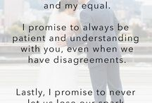 wedding vows idea