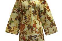 Dress Batik Sogan Bledak / Koleksi baju dress batik motif sogan bledak