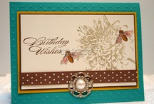 Stampin up Blooming with kindness / Examples of projects using the stampset from Stampin up