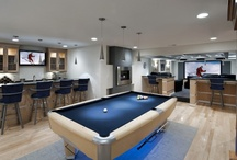 Game Rooms - Design Ideas / by Parrish Built